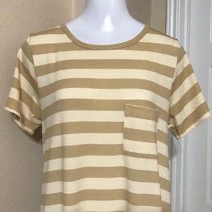 LuLaRoe Dresses - NWOT LulaRoe Stripe dress Size Medium